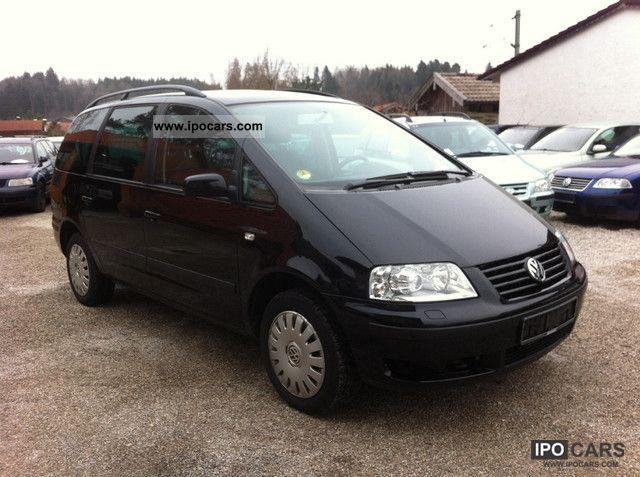 2002 volkswagen sharan 1 9 tdi comfortline family car. Black Bedroom Furniture Sets. Home Design Ideas