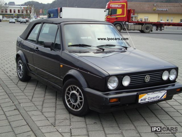 1992 volkswagen golf cabrio 1 8 sport seats karmann. Black Bedroom Furniture Sets. Home Design Ideas