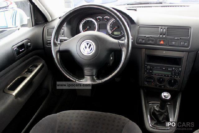 2001 Volkswagen Bora Variant 1 6 Comfortline Climate Sh
