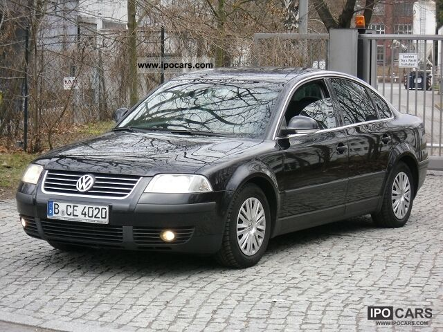 2004 volkswagen passat 1 9 tdi comfortline auto car photo and specs. Black Bedroom Furniture Sets. Home Design Ideas