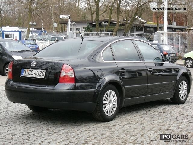 2004 volkswagen passat 1 9 tdi comfortline auto car photo and specs. Black Bedroom Furniture Sets. Home Design Ideas