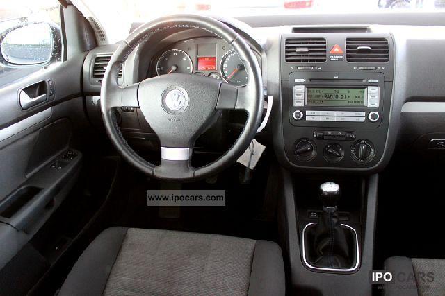 2007 Volkswagen Golf V 1.9 TDI Tour - 5-door-air-1.Hand - Car Photo and Specs