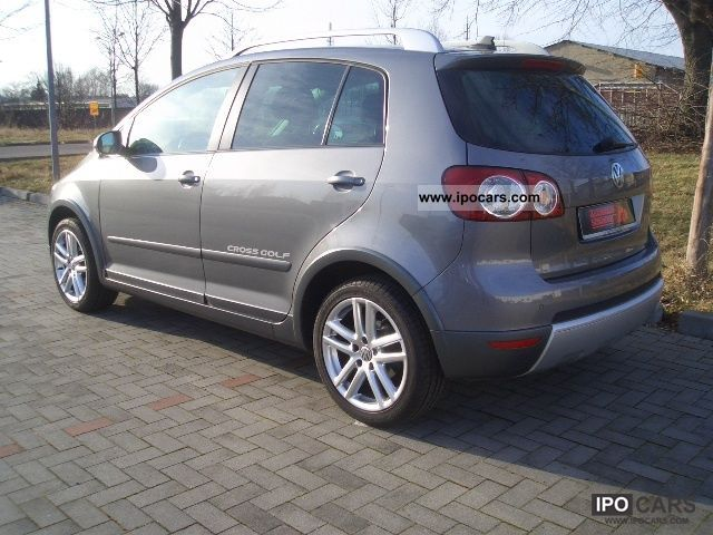 2007 volkswagen golf plus 1 6 golf cross navi pdc see exh car photo and specs. Black Bedroom Furniture Sets. Home Design Ideas