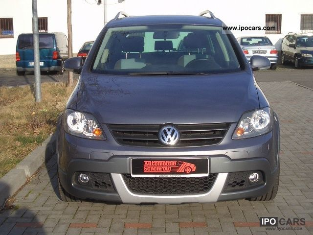 2007 volkswagen golf plus 1 6 golf cross navi pdc. Black Bedroom Furniture Sets. Home Design Ideas