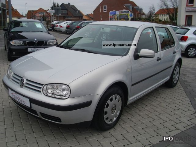 2000 Volkswagen  Golf 1.6l \ Limousine Used vehicle photo