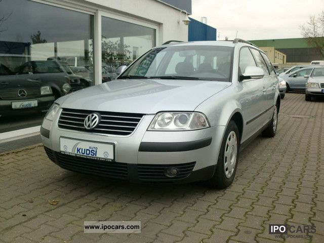 2003 volkswagen passat variant 1 9 tdi climatronic car photo and specs. Black Bedroom Furniture Sets. Home Design Ideas