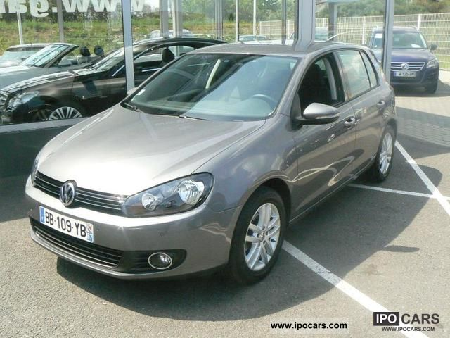 2010 volkswagen golf vi 1 6 tdi 105 confortlin e 5p car. Black Bedroom Furniture Sets. Home Design Ideas