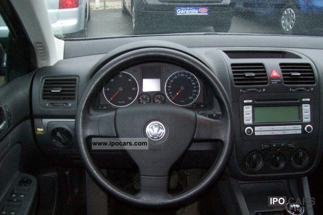2007 Volkswagen Jetta 1 9 Tdi Trendline Badge Green Car
