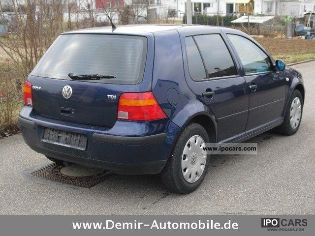 2000 Volkswagen Golf 1 9 Tdi Car Photo And Specs