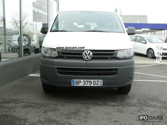 Combi Court Picture: 2011 Volkswagen TRANSPORTER 2.0 TDI COMBI COURT 102 9PL