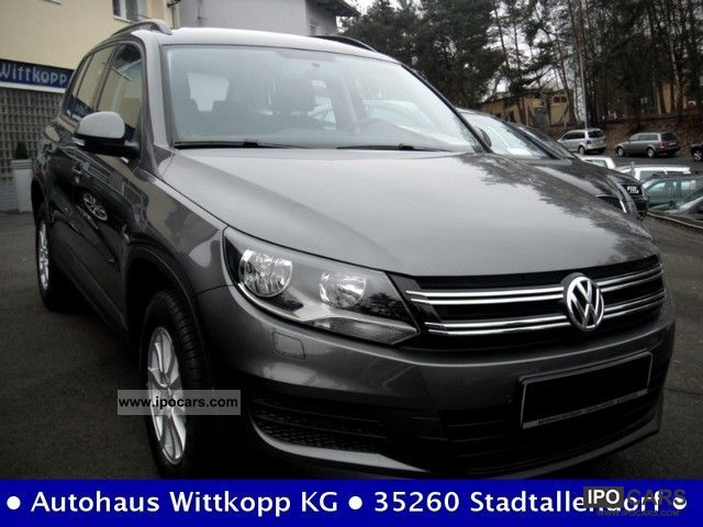 2011 Volkswagen  Tiguan 2.0 TDI DPF BlueMotion Edition + Car Hold Off-road Vehicle/Pickup Truck New vehicle photo