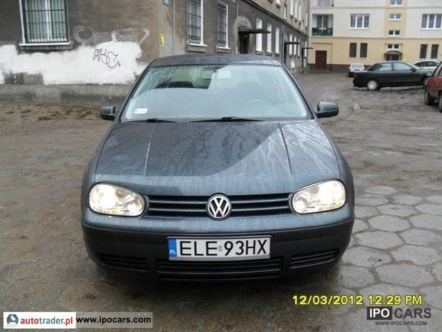Volkswagen  Golf 2001 Liquefied Petroleum Gas Cars (LPG, GPL, propane) photo