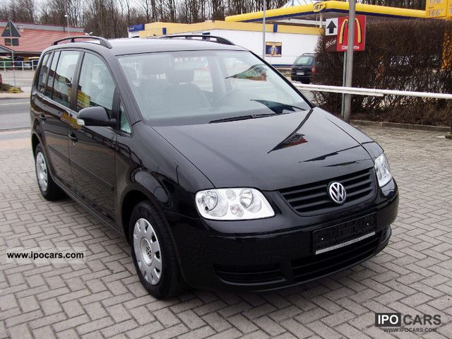 2005 volkswagen touran 1 6 trendline car photo and specs. Black Bedroom Furniture Sets. Home Design Ideas