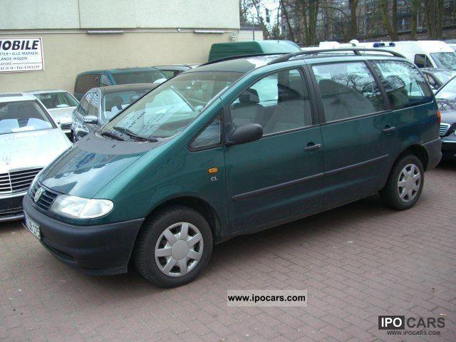 1996 Volkswagen  Sharan 2.0 CL Van / Minibus Used vehicle photo