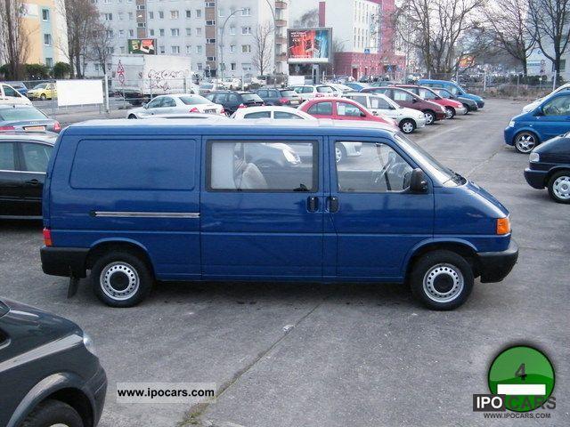 2000 Volkswagen  T4 half-caste 6Sitze long Scheckh Green sticker Van / Minibus Used vehicle photo