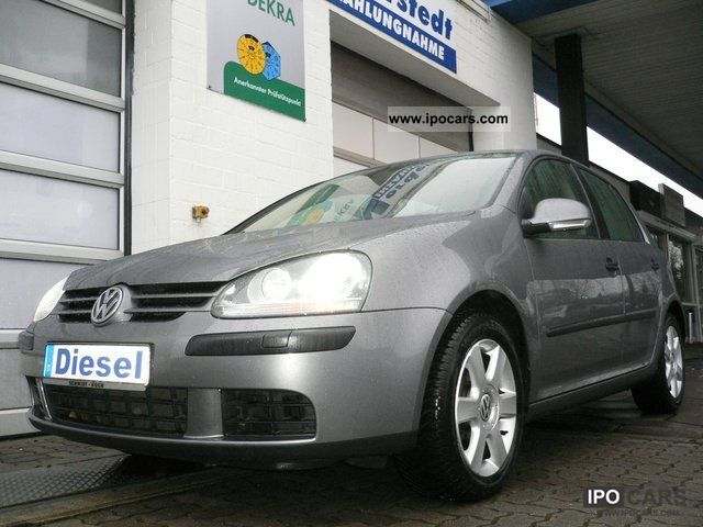 2004 Volkswagen  Golf 2.0 TDI DSG * Leather * Xenon * Navi * GSHD * Limousine Used vehicle photo