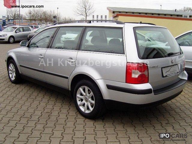 2004 Volkswagen Passat Variant 2 0 5v Comfortline Car