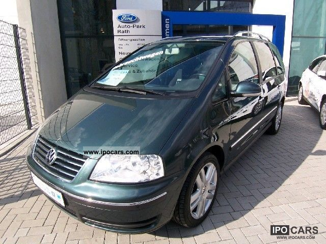 2006 Volkswagen  2.0l TDI Sharan Freestyle * TOP * 1.HAND AUSSTA Van / Minibus Used vehicle photo