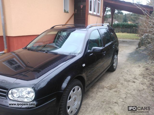 2003 Volkswagen Golf Estate 2.0 Highline Automatic - Car Photo and Specs