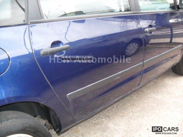 2003 volkswagen sharan 1.9 tdi comfortline family - car photo and specs