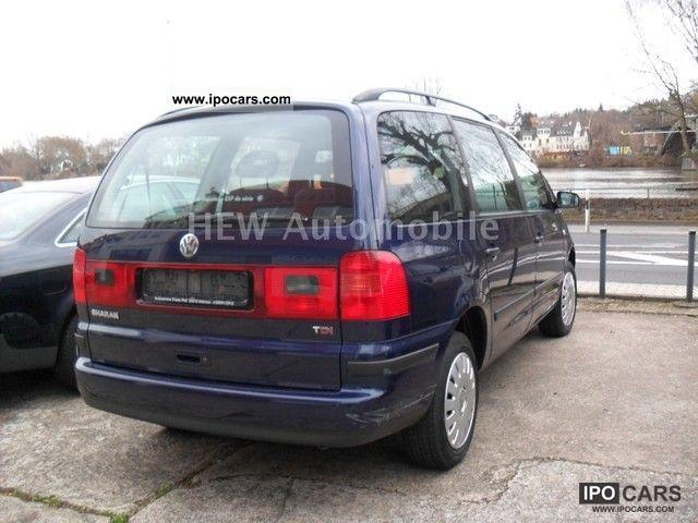 2003 volkswagen sharan 1 9 tdi comfortline family car. Black Bedroom Furniture Sets. Home Design Ideas