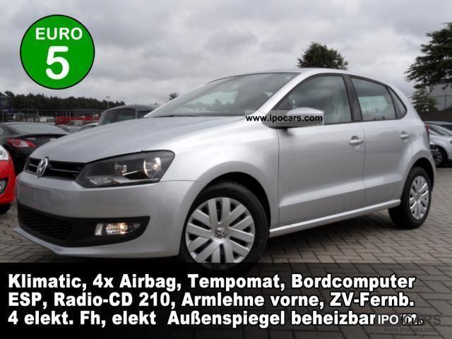 2011 Volkswagen  Polo 1.4 Comfortline 5-door Climatic RCD210 ... Small Car New vehicle photo