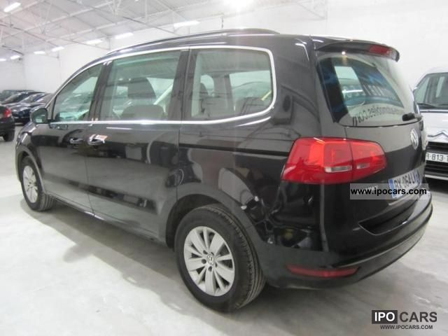 2011 volkswagen ii sharan 2 0 tdi 140 fap bluemotion con car photo and specs. Black Bedroom Furniture Sets. Home Design Ideas