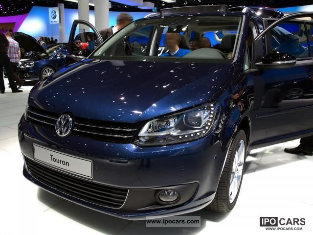 2011 volkswagen touran trendline 1 6 tdi bluemotion technolog car photo and specs. Black Bedroom Furniture Sets. Home Design Ideas