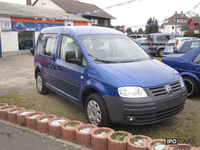 2005 Volkswagen  Caddy 1.6 Life 2 Sliding Euro 4 air Estate Car Used vehicle photo