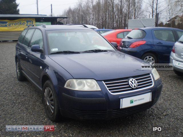 2001 Volkswagen  Passat Estate Car Used vehicle photo