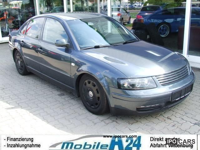 2000 volkswagen passat 2 5 tdi v6 klimaautomatik car photo and specs. Black Bedroom Furniture Sets. Home Design Ideas