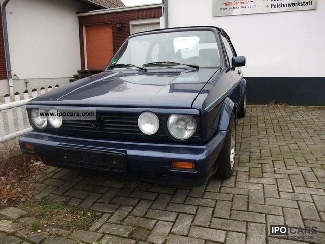 1991 Volkswagen  Golf Cabrio Young Line Cabrio / roadster Used vehicle photo