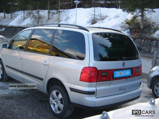 2002 volkswagen sharan 1 9 tdi 4motion comfortline car. Black Bedroom Furniture Sets. Home Design Ideas