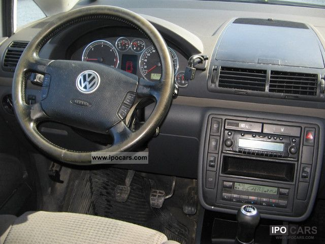 2002 Volkswagen Sharan 1 9 Tdi 4motion Comfortline Car