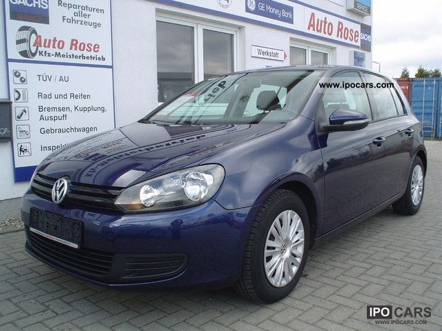 2009 volkswagen golf 6 2 0 tdi trendline car photo and specs. Black Bedroom Furniture Sets. Home Design Ideas