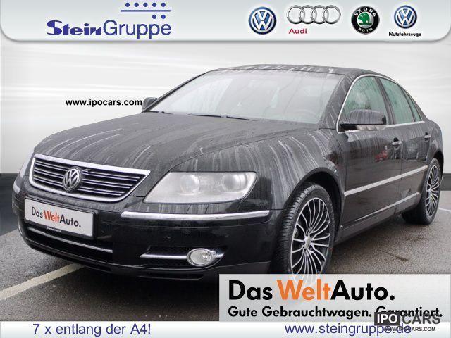 2008 Volkswagen  Phaeton 3.0 TDI 4Motion STANDHEIZUNG LEATHER NAVI Limousine Used vehicle photo