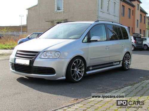 2006 Volkswagen  Touran 1.9 TDI Tuning Van / Minibus Used vehicle photo