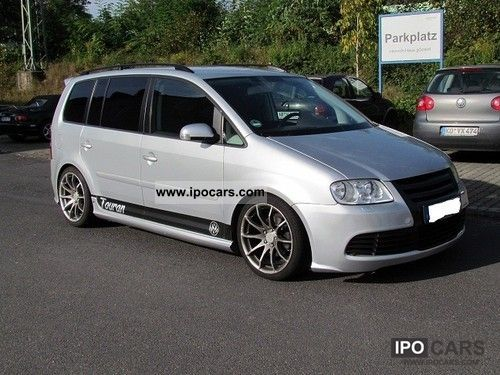 2006 volkswagen touran 1 9 tdi tuning car photo and specs. Black Bedroom Furniture Sets. Home Design Ideas