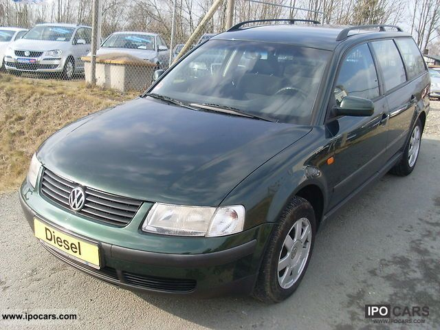 1997 volkswagen passat variant 1 9 tdi alu coupling car photo and specs. Black Bedroom Furniture Sets. Home Design Ideas