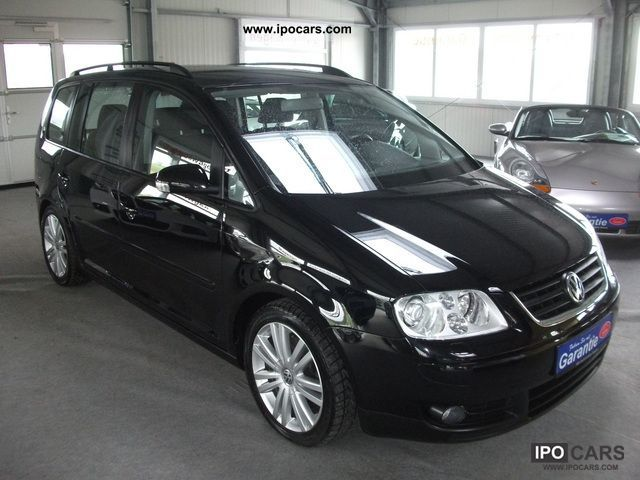 2006 volkswagen touran 2 0 tdi dpf highl 125kw navi xenon 17 car photo and specs. Black Bedroom Furniture Sets. Home Design Ideas