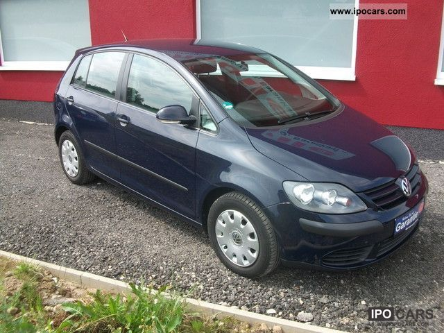 2005 volkswagen golf plus 1 6 trendl 75kw air 1 hand car photo and specs. Black Bedroom Furniture Sets. Home Design Ideas
