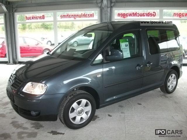 2008 Volkswagen  Caddy Life 1.6 team 5-Sitzer/Klima/Alu 1.Hand Van / Minibus Used vehicle photo