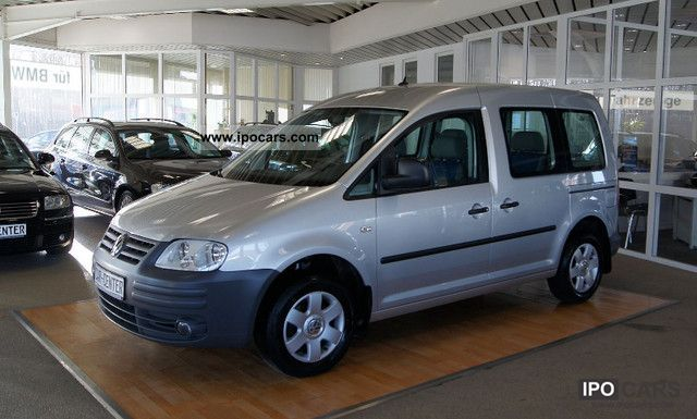 2006 Volkswagen  Caddy 1.4 Life fan, air conditioning, FSP, RCD, NAV, ALU ... Estate Car Used vehicle photo