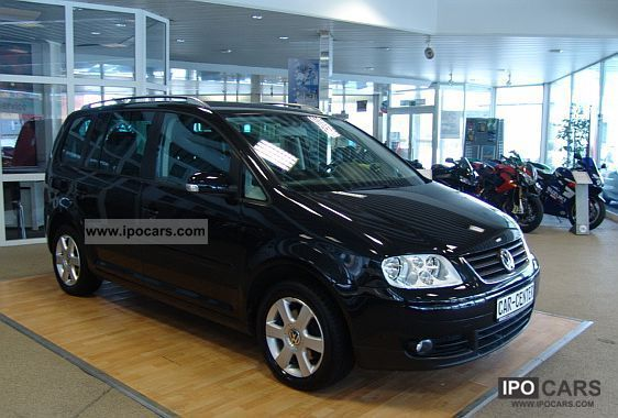 2005 volkswagen touran 2 0 tdi highline car photo and specs. Black Bedroom Furniture Sets. Home Design Ideas