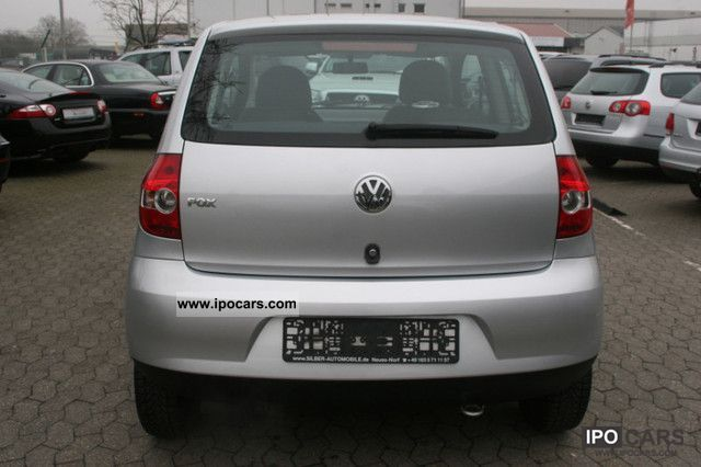 2006 volkswagen fox 1 2 air power car photo and specs. Black Bedroom Furniture Sets. Home Design Ideas