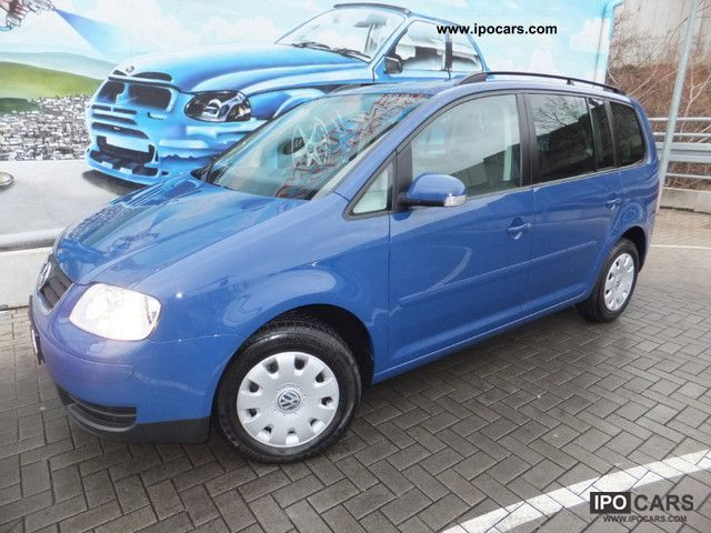2006 Volkswagen  1.6i Touran Air + Navi + PDC 1-hand 110Tkm Euro4 Van / Minibus Used vehicle photo