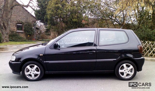 1999 volkswagen polo 2 hd 102 tkm original power zv efh car photo and specs. Black Bedroom Furniture Sets. Home Design Ideas