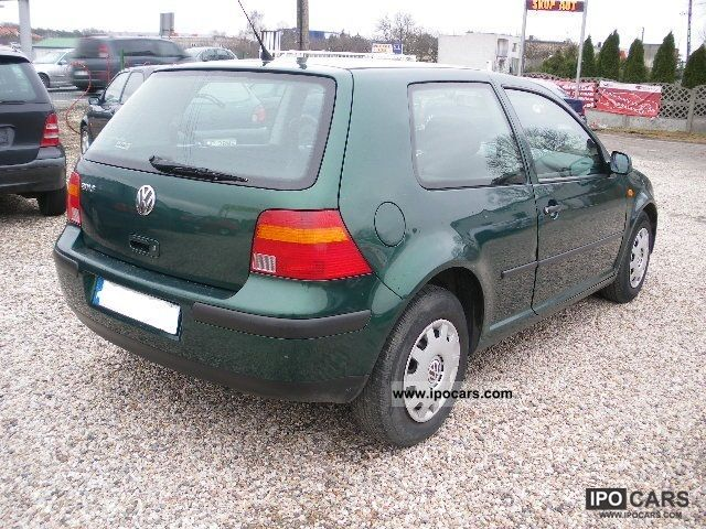 1998 volkswagen golf iv 1 4 16v car photo and specs. Black Bedroom Furniture Sets. Home Design Ideas