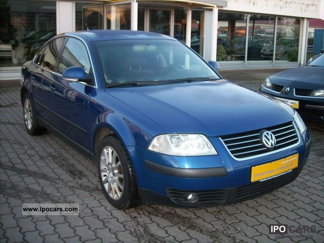 2004 volkswagen passat 1 9 tdi comfortline climatronic sitzheiz car photo and specs. Black Bedroom Furniture Sets. Home Design Ideas