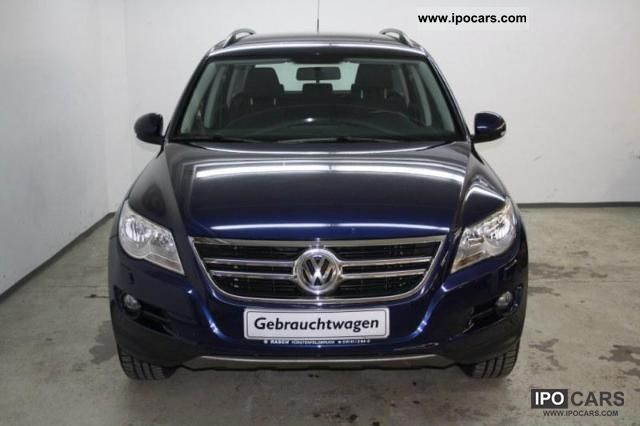 2008 Volkswagen  Tiguan Track & Field 2.0 TDI navigation, reversing camera Limousine Used vehicle photo